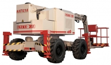 Parma 21D Self-propelled with hydraulic stabilizers